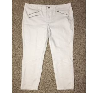 Lane Bryant Jeans Genius Fit Ankle Plus Size 28